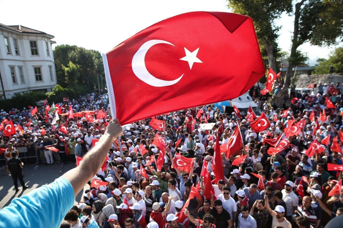 هنيئًا للشعب التركي انتصار إرادته وفشل محاولة الانقلاب